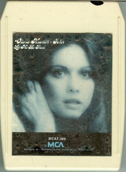 Olivia Newton-John - Let Me Be There 1973 MCA 8-track tape