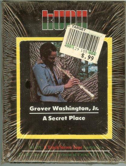 Grover Washington Jr. - A Secret Place 1976 KUDU MOTOWN Sealed 8-track tape