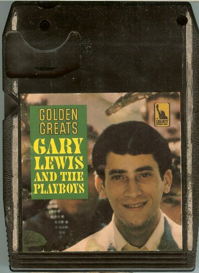 Gary Lewis And The Playboys - Golden Greats 8-track tape
