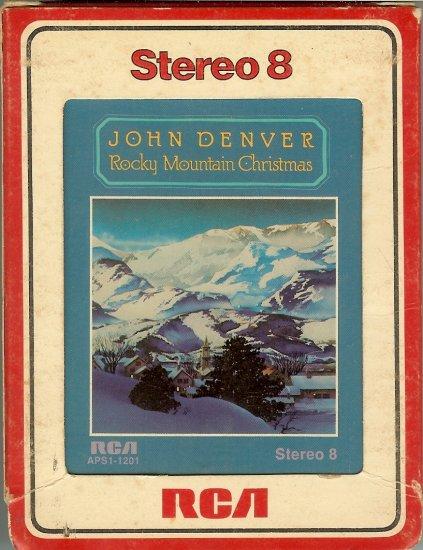 John Denver - Rocky Mountain Christmas 1975 RCA 8-track tape