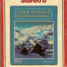 John Denver - Rocky Mountain Christmas 1975 RCA 8-track tape