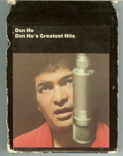 Don Ho - Greatest Hits 1969 WB 8-track tape