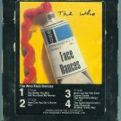The Who - Face Dances 8-track tape
