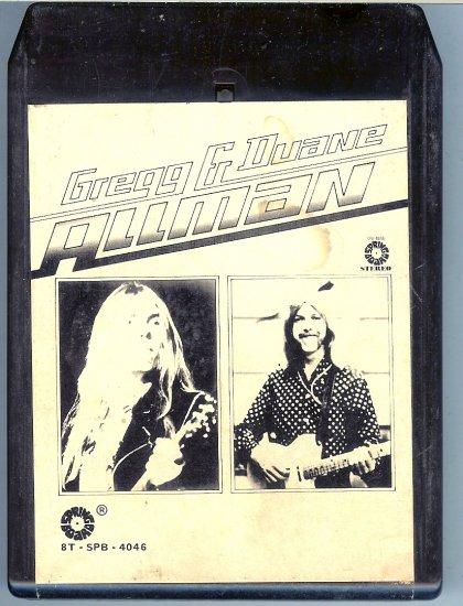 Greg Allman And Duane Allman - Greg & Duane Allman 8-track tape