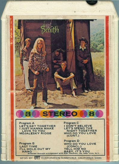 Smith - A Group Called Smith 8-track tape