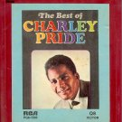 Charley Pride - The Best Of Charley Pride Quadraphonic 8-track tape
