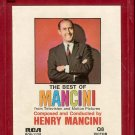 Henry Mancini - The Best Of Mancini 1964 RCA Re-issue Quadraphonic 8-track tape