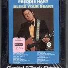 Freddie Hart - Bless Your Heart ( Sealed ) 8-track tape