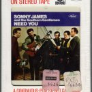Sonny James - Need You 1967 CAPITOL Sealed 8-track tape