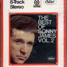 Sonny James - The Best Of Volume 2 1969 CAPITOL Sealed 8-track tape
