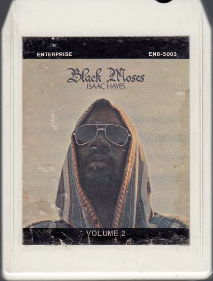 Isaac Hayes - Black Moses Part II 8-track tape