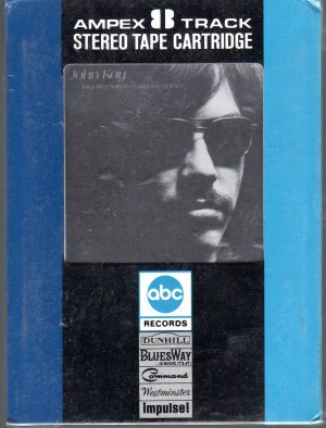 John Kay - Forgotten Songs And Unsung Heroes Sealed (Ampex) 8-track tape