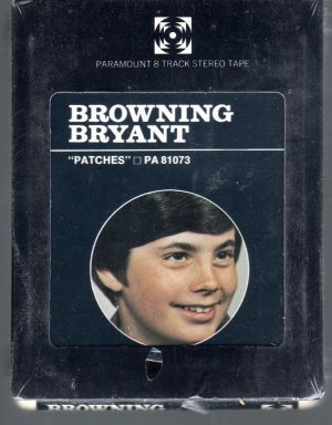 Browning Bryant - Patches Sealed 8-track tape