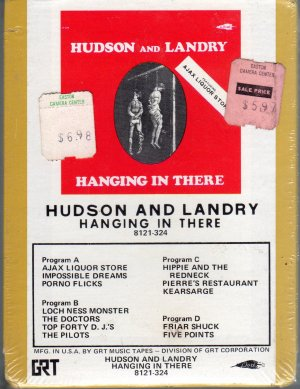 Hudson And Landry - Hanging In There Sealed 8-track tape
