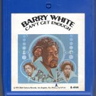 Barry White - Can't Get Enough 8-track tape
