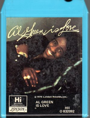 Al Green - Is Love 8-track tape