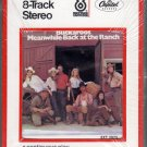 The Buckaroos - Meanwhile Back At The Ranch Sealed 8-track tape