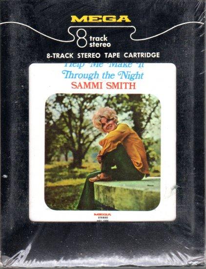 Sammi Smith - Help Me Make It Through The Night Sealed 8-track tape
