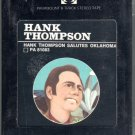 Hank Thompson - Hank Thompson Salutes Oklahoma Sealed 8-track tape