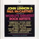 The Songs Of  Lennon & McCartney -  By World's Greatest Rock Artist's Vol 1 8-track tape