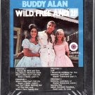 Buddy Alan - Wild, Free And 21! Sealed 8-track tape