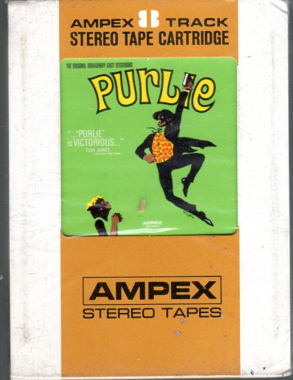 Purlie - Original Broadway Cast Sealed 8-track tape