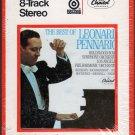 Leonard Pennario - The Best Of Album Sealed 8-track tape