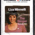 Liza Minnelli - The Singer 8-track tape