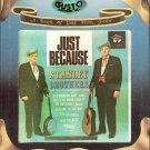Stanley Brothers - Just Because ( Gusto - Bluegrass ) 8-track tape