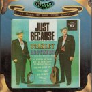 Stanley Brothers - Just Because ( Gusto - Bluegrass ) Sealed 8-track tape