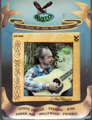 Mac Wiseman - Golden Classics ( Gusto - Bluegrass ) 8-track tape