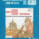 Boris Aleksandrov Soviet Army Chorus & Band - On Parade Sealed 8-track tape