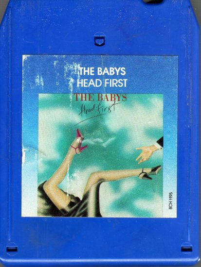 The Babys - Head First 8-track tape