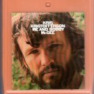 Kris Kristofferson - Me And Bobby McGee 8-track tape