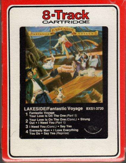Lakeside - Fantastic Voyage 1980 RCA Sealed 8-track tape