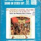 Carl Orff  & The New Philharmonia Chorus and Orchestra - Carmina Burana Sealed 8-track tape