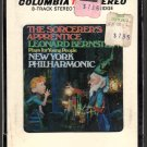 Leonard Bernstein - The Sorcerer's Apprentice Sealed 8-track tape