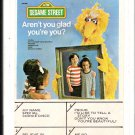 Sesame Street - Aren't you glad you're you ? 1977 SESAME 8-track tape
