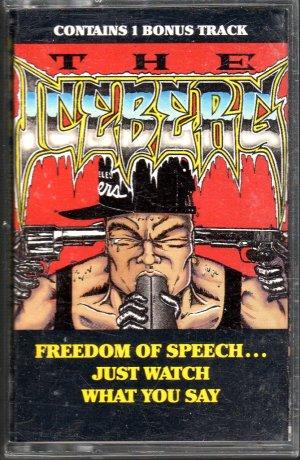 Ice T - The Iceberg Freedom Of Speech Cassette Tape