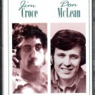 Jim Croce / Don McLean - Back To Back Hits Cassette Tape