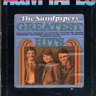 The Sandpipers - Greatest Hits 8-track tape