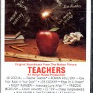Teachers - Original Motion Picture Soundtrack Cassette Tape
