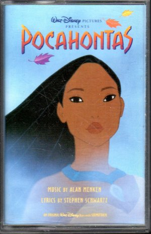 Walt Disney - Pocahontas Soundtrack Cassette Tape