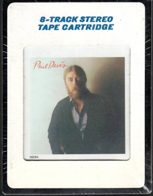 Paul Davis - Paul Davis Sealed 8-track tape