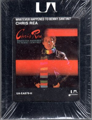 Chris Rea - Whatever Happened To Benny Santini Debut Sealed 8-track tape