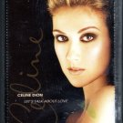Celine Dion - Let's Talk About Love Sealed Cassette Tape