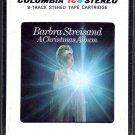 Barbra Streisand - A Christmas Album Sealed 8-track tape