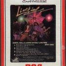 Daryl Hall & John Oates - Livetime Sealed 8-track tape