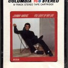 Johnny Mathis - You Light Up My Life 1978 CBS TC8 Sealed 8-track tape