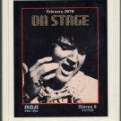 Elvis Presley - On Stage February 1970 8-track tape